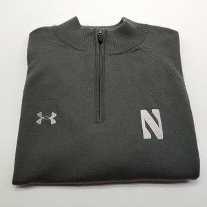 Under Armour Northwestern Merino Wool Zip Sweater